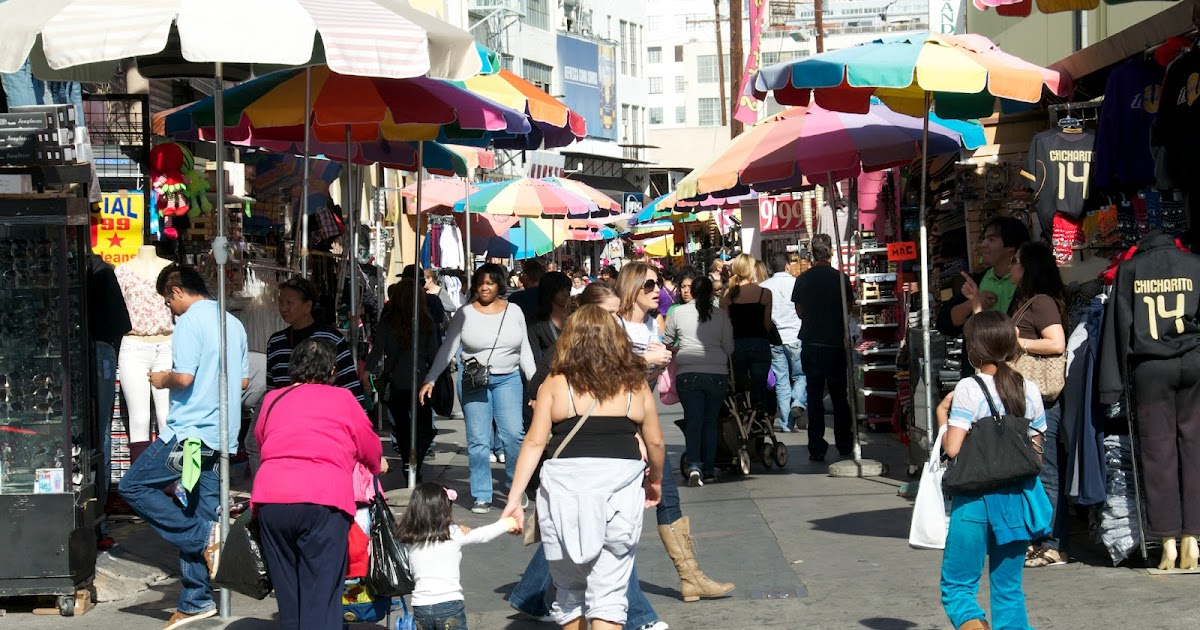 The Santee Alley: LA Fashion District Fire Update: Stores ...