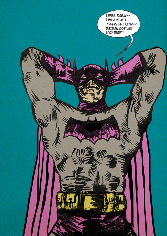 the goddamn pink batman