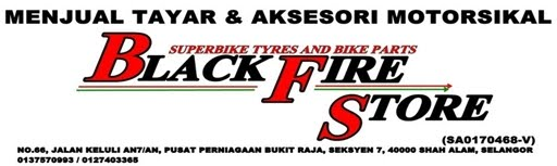 BLACKFIRE STORE : Superbike Tyres & Bike Parts