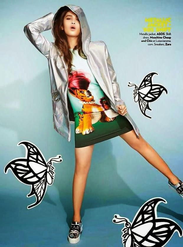 Alia Bhatt Bikini Photoshoot for Miss Vogue Magazine 2015 Pictures 3