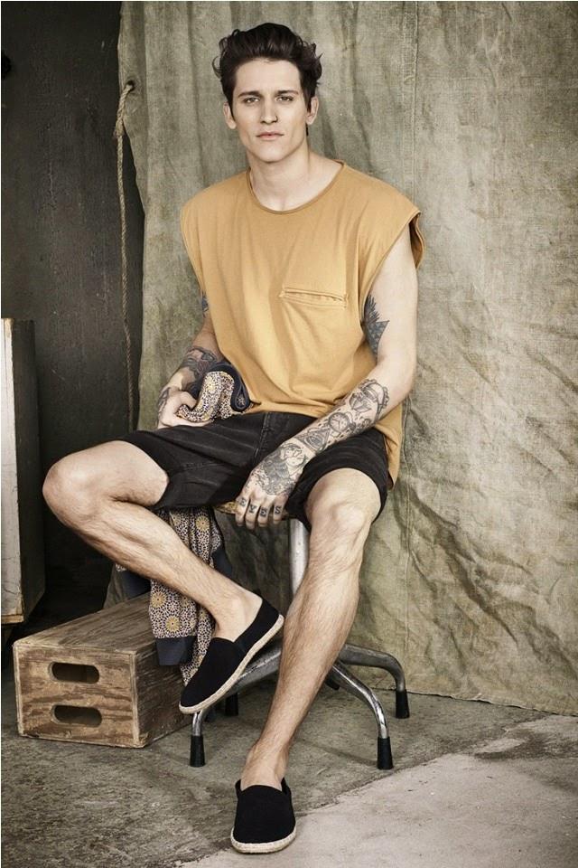 Leebo Freeman - H&M Lookbook Summer 2014 - moda masculina - looks verano - moda veraniega - menswear