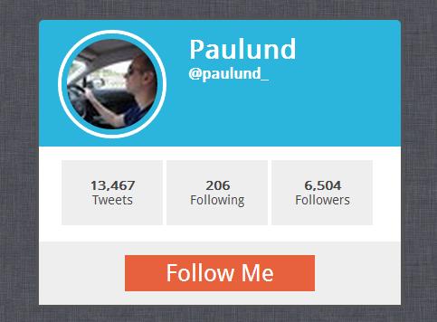 Create A Twitter Profile Card With API V1.1