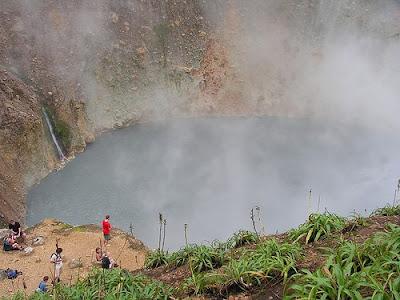 Lagos increibles - Lago Boiling, Dominica