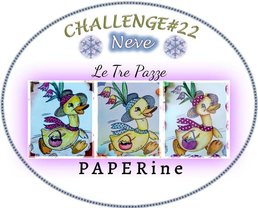Partecipo al Challenge a tema Neve