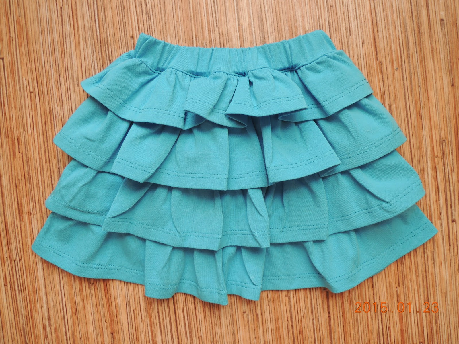 как делать валаны на юбки: