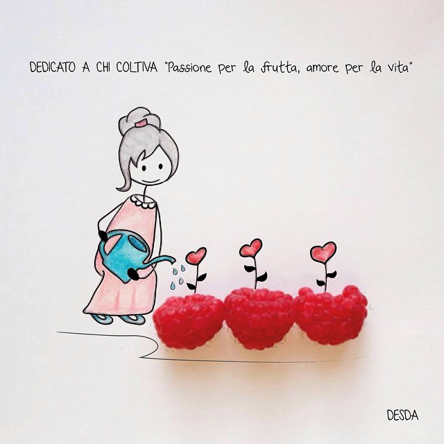 funny and cute photo illustrations by Clara Desda