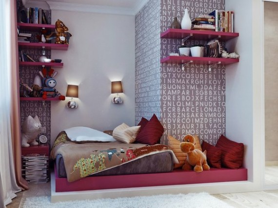 Fresh Ideas For Young Teenager\u2019s Rooms Interior Decor ...