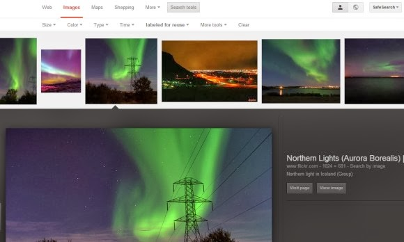 Quickly Find Creative Commons Images Using Google