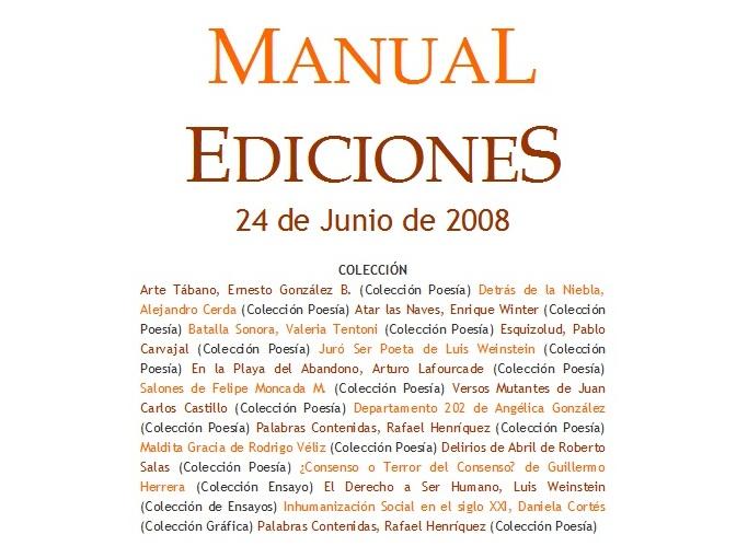 Manual Ediciones