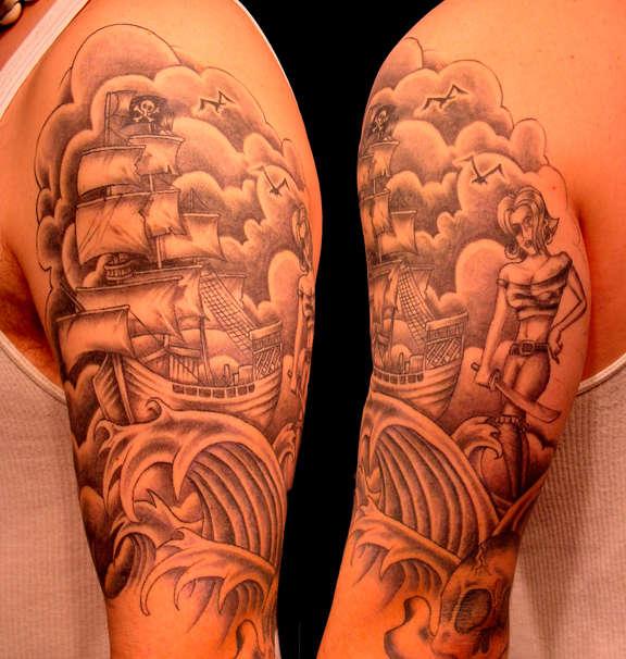 tattoos designs for men half sleeves. half sleeve tattoo designs for men