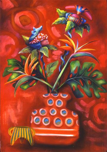 Debra Hill |  Pintor simbolista de Australia