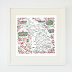 New Vintage Map Prints