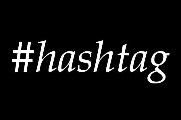 popüler twitter Hashtagler