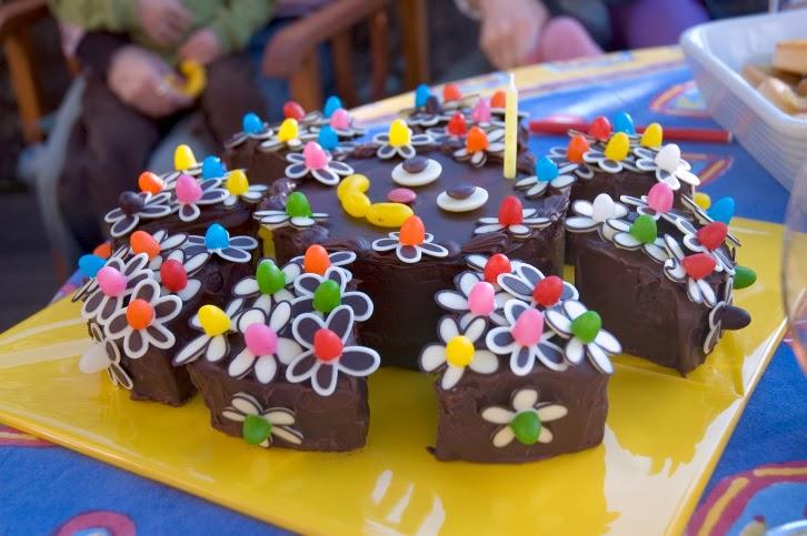 como hacer un pastel de cumpleaos