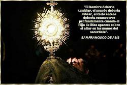 El Hijo de Dios en manos del sacerdote
