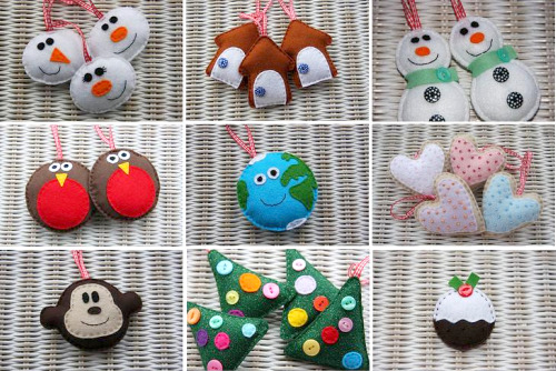 Идеи для елочных игрушек своими руками для детей
