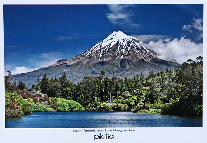 Mount Taranaki New Zealand  city photo : view to mount taranaki from lake mangamahoe new zealand mount taranaki ...