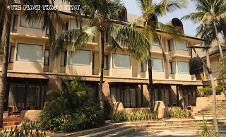 Novotel Lombok - The hotel building