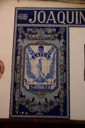 Tiles in street of Sevilla, Spain