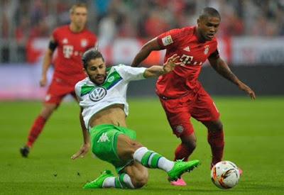 HT: Bayern Munchen 0-1 Wolfsburg, Bundes Liga Matchday 6