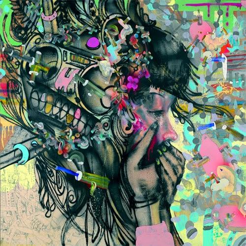 nuncalosabre.Arte. Art - David Choe