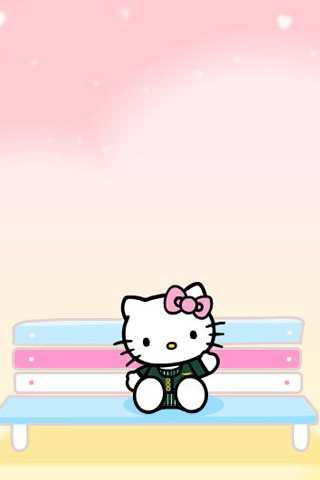 Hello Kitty IPhone Wallpaper 640x960 320x480