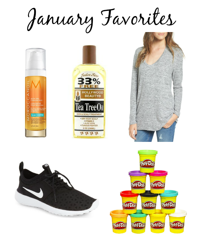 January Favorites (most clicked on + purchased items)