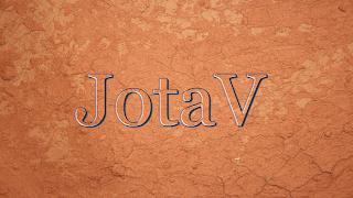 JotaV, em relevo, gravado em Argila-opt