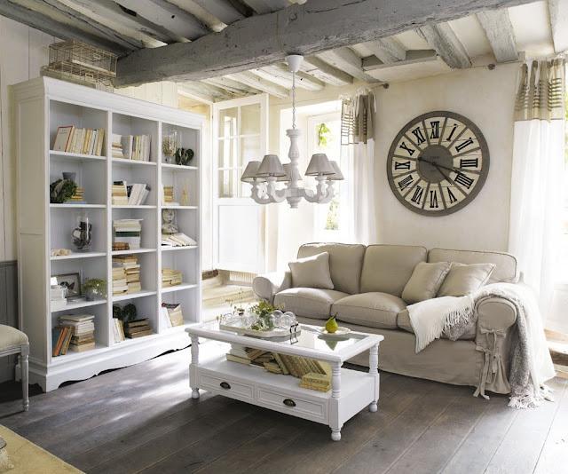 Arte en el desv n equilibrio perfecto blanco for Salon maison du monde