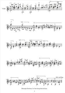 Clube do choro de belo horizonte histrias do choro partitura de royal cinema transcrio para violo de cludio galvo fandeluxe Images