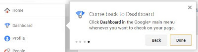 Google Plus Dashboard for Pages