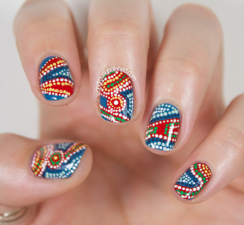 Wondrously Polished 31 Day Nail Art Challenge