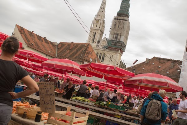 Photo Tour of Dolac Market in Zagreb (Style Jaunt - A Blog About Fashionable Travel)