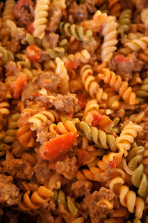 Savory Sweet and Satisfying: Creamy Sausage and Tomato Pasta