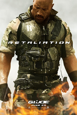 "G.I. Joe: Retaliation Character Movie Poster Set 1 - Dwayne ""The Rock"" Johnson as Roadblock"