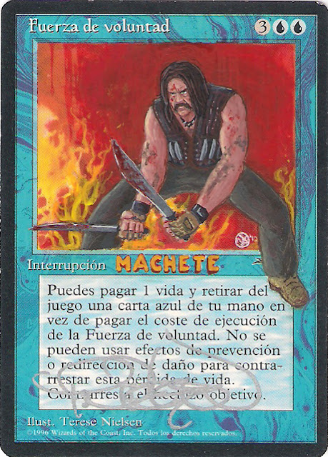 Altered Fow: Machete por 00-PavoRandom-00