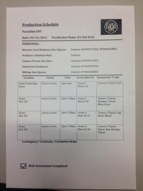 Ken Nguyen A Level Media Planning Production Schedulerisk