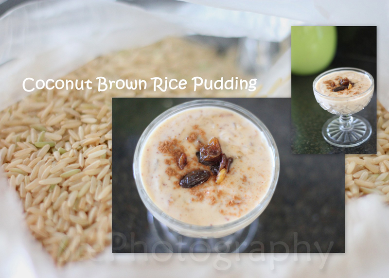 Coconut Brown Rice Pudding