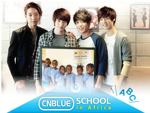 CN Blue - Afrika�da Bir CN Blue Okulu Oldu�unu Biliyor Musunuz? /// 04.04.2013