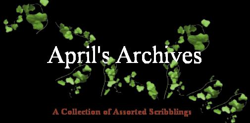 April's Archives