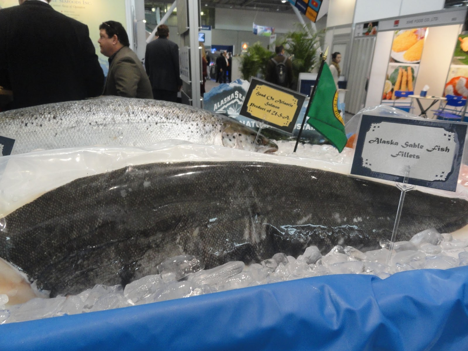 The passionate foodie international boston seafood show for Cod fish walmart