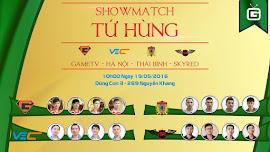Cộng đồng AOE rộn ràng cùng ShowMatch đầu tiên sau giải đấu Trung Việt 2016