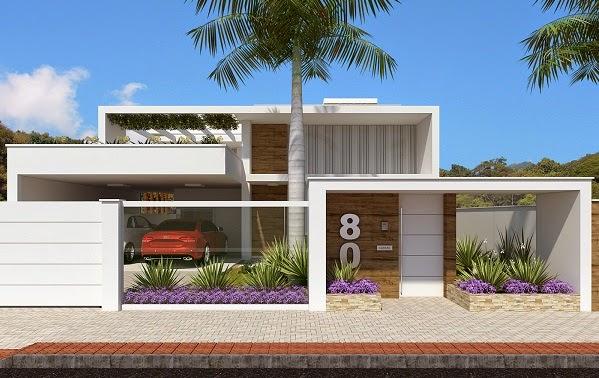 Top lindos modelos fachadas de wallpapers - Modelos de fachadas de casas modernas ...