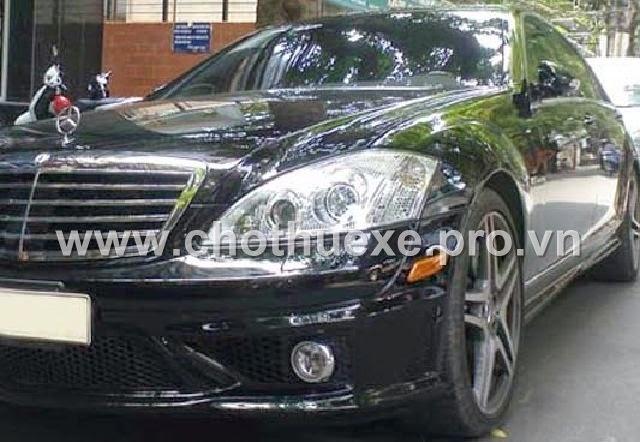 Cho thuê xe cưới Mercedes VIP S65 AMG tại Hà Nội