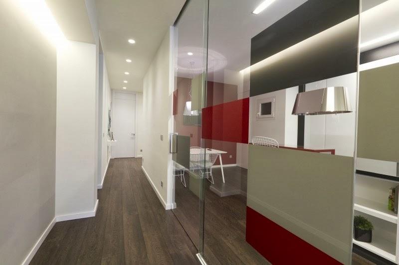 Hogares frescos apartamento pastor por bano arquitectura - Disenador de interiores madrid ...