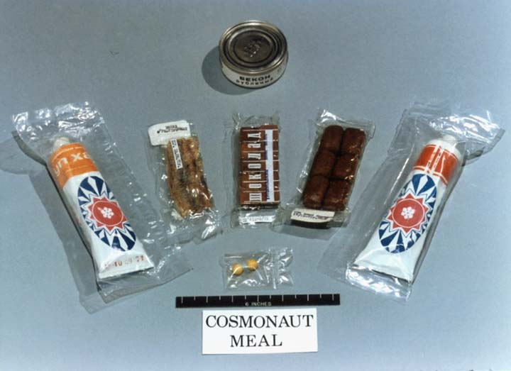 early astronaut food - photo #14