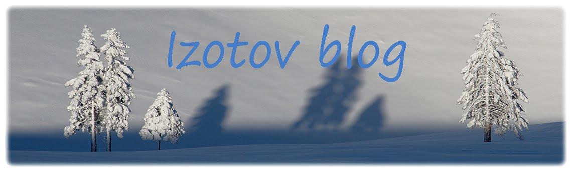 Izotov blog