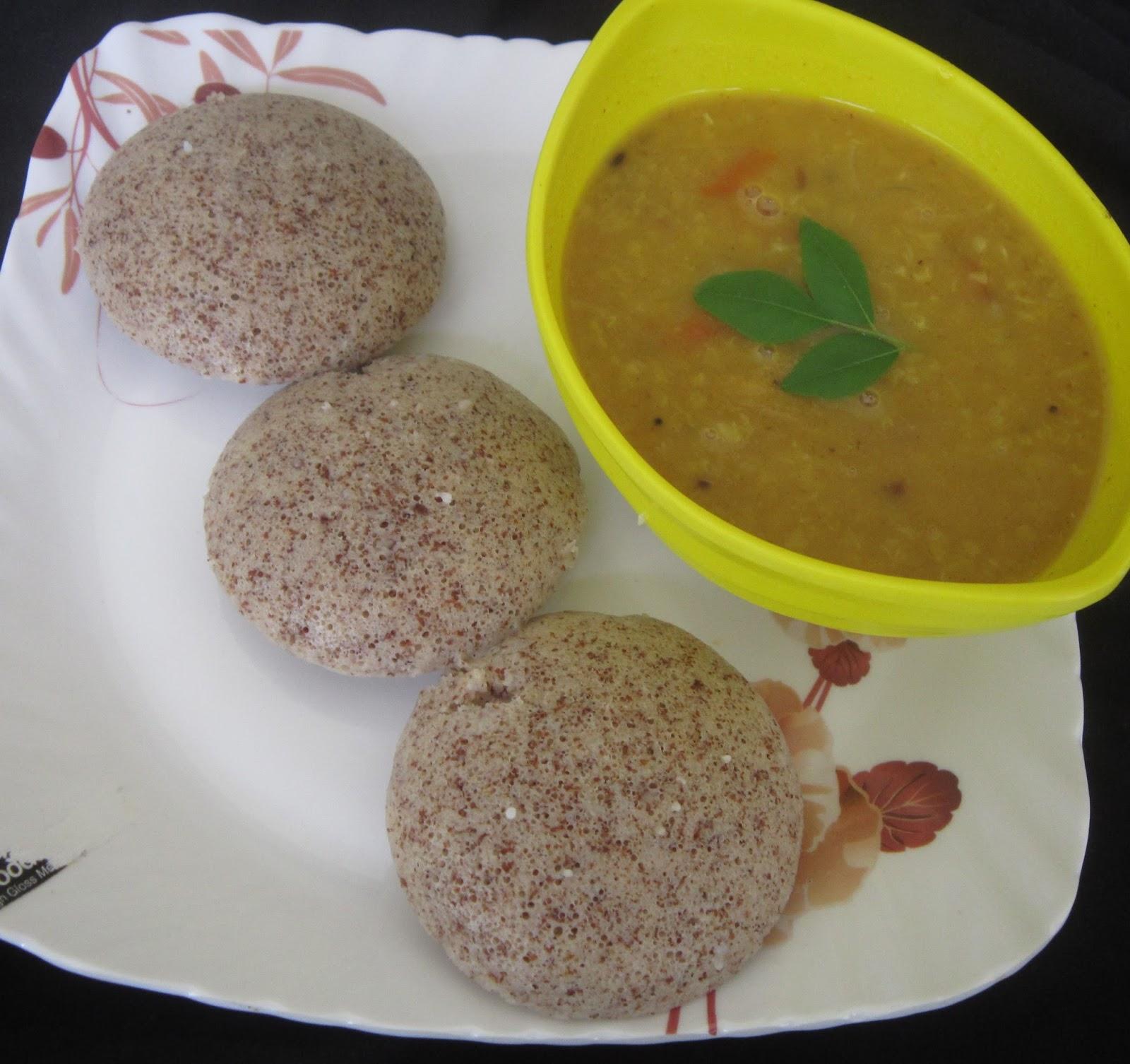 vidhas kitchen ragi idly finger millet idli