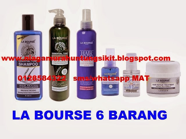 SET LA BOURSE HAIR CARE