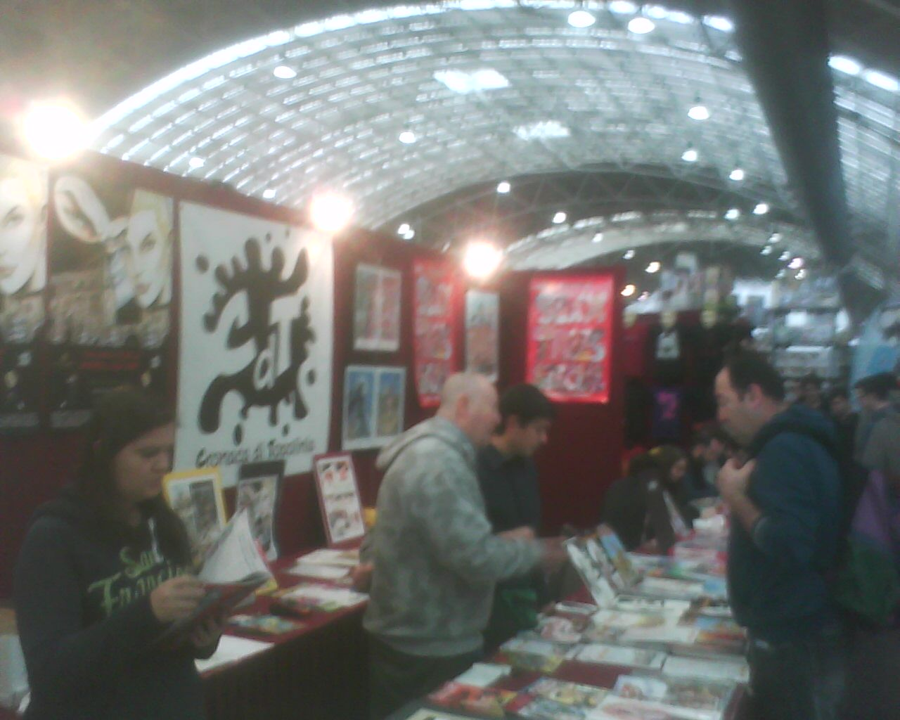 6/2/2016  comics  festival  in=LINATE.  milan.italy
